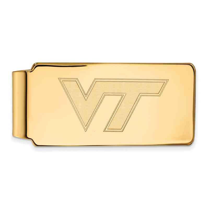 GP019VTE: 925 YGFP Virginia Money Clip