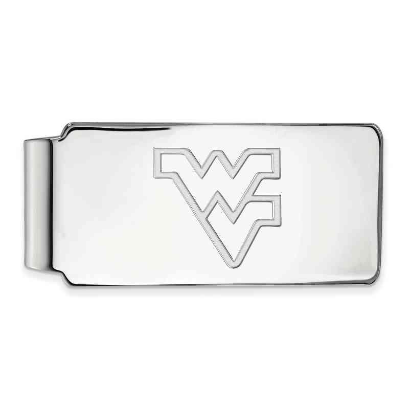 SS025WVU: 925 West Virginia Money Clip
