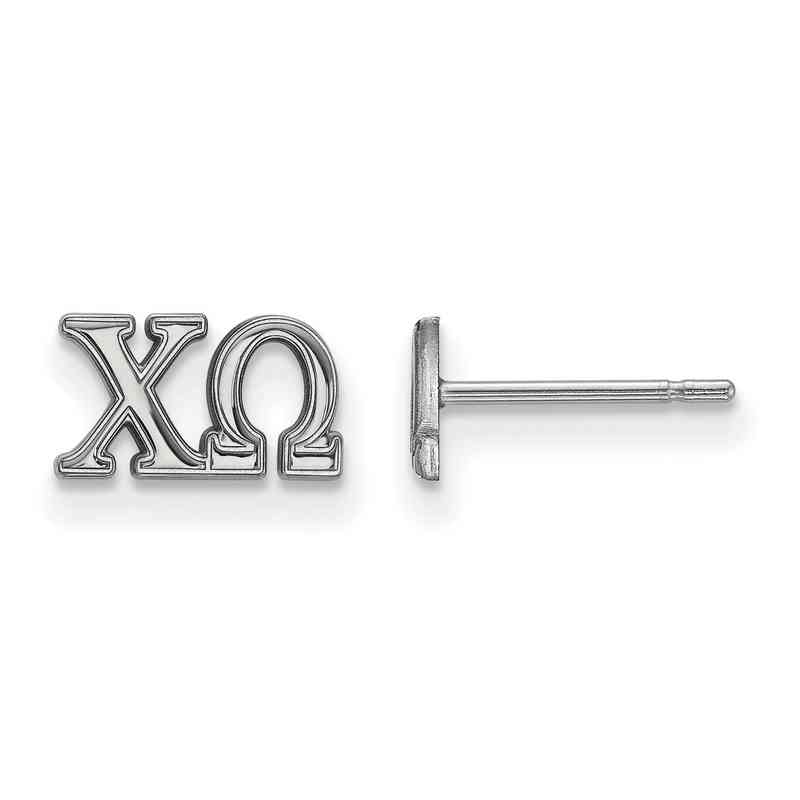SS005CHO: 925 Logoart CHO Post Earrings