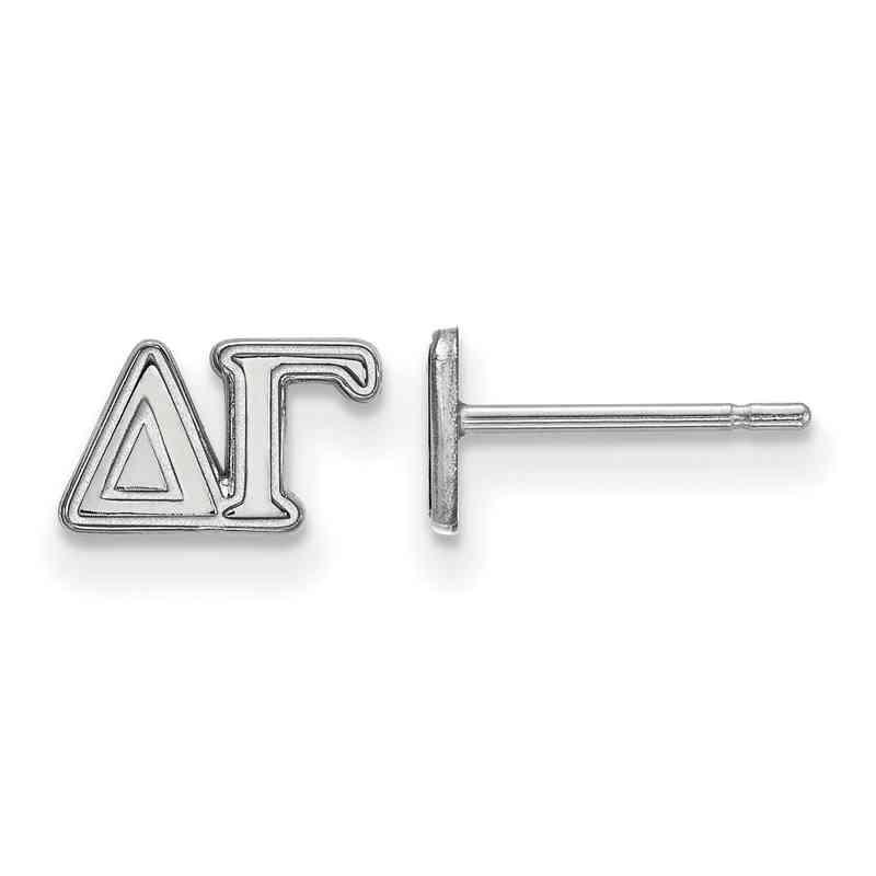 SS005DG: 925 Logoart DG Post Earrings