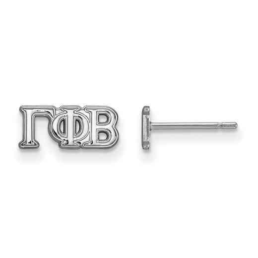 SS005GPB: 925 Logoart GPB Post Earrings