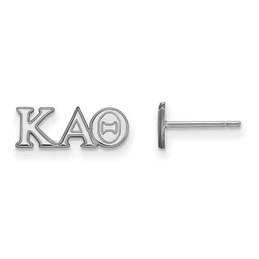 SS005KAT: 925 Logoart KAT Post Earrings