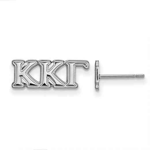 SS005KKG: 925 Logoart KKG Post Earrings