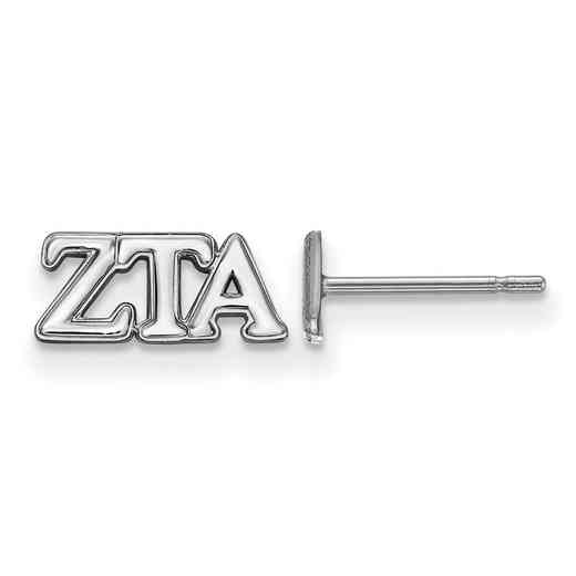 SS005ZTA: 925 Logoart ZTA Post Earrings
