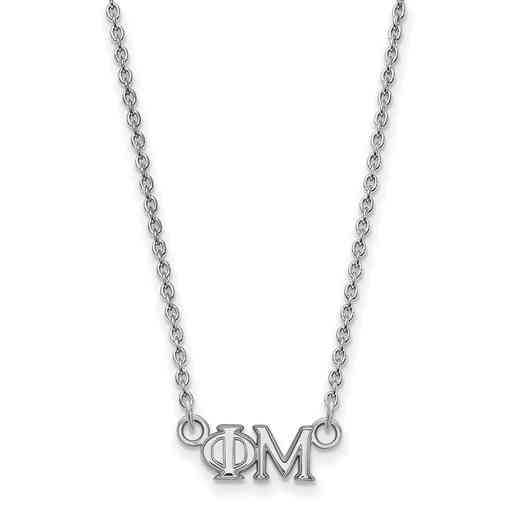 SS006PHM-18: 925 Logoart PM Necklace