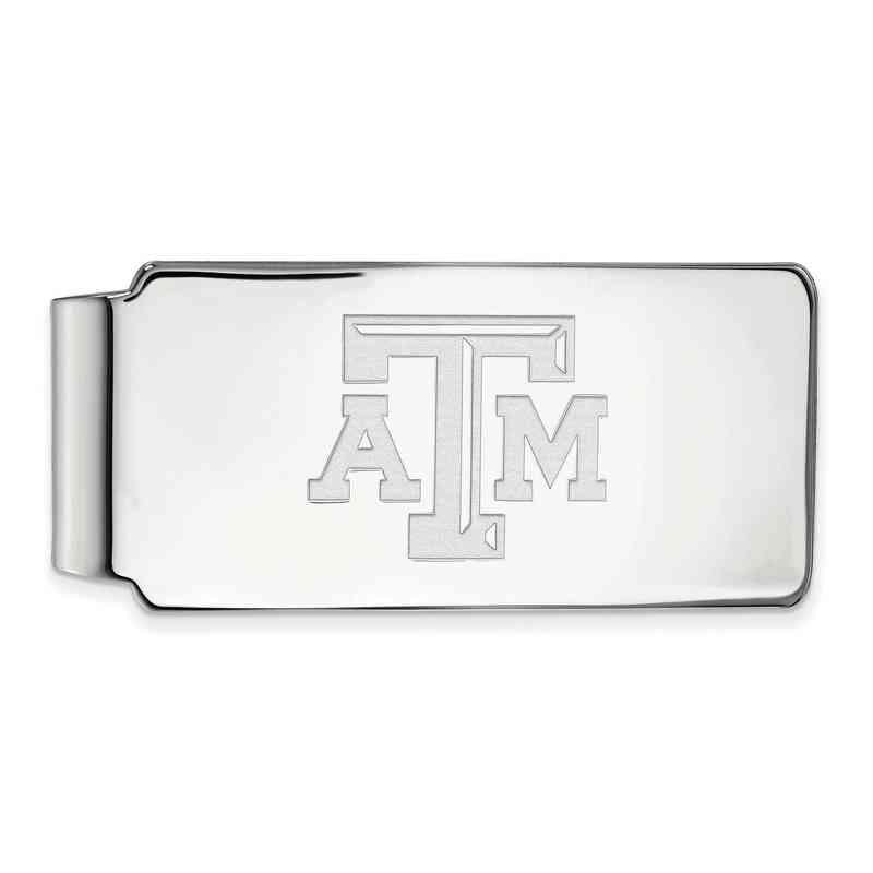 SS019TAM: 925 Texas A&M Money Clip