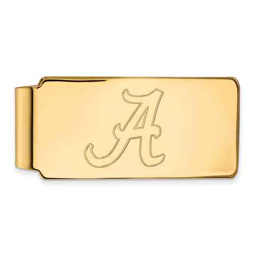 GP025UAL: 925 YGFP Alabama Money Clip
