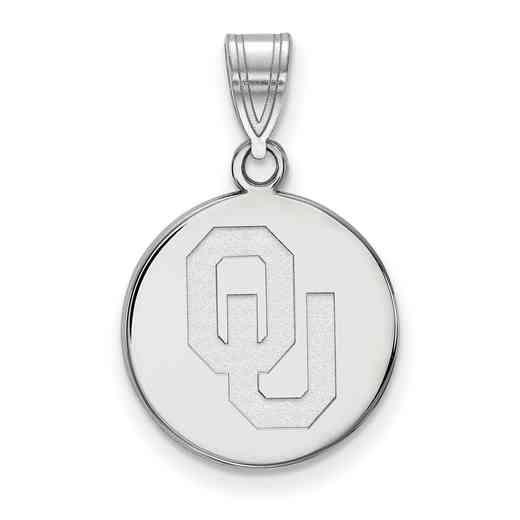 SS036UOK: 925 Oklahoma Med Disc Pend