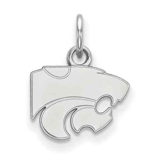 SS001KSU: 925 Kansas State XS Pendant