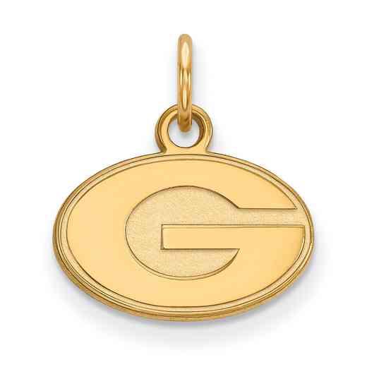 GP001UGA: 925 YGFP Georgia XS Pendant