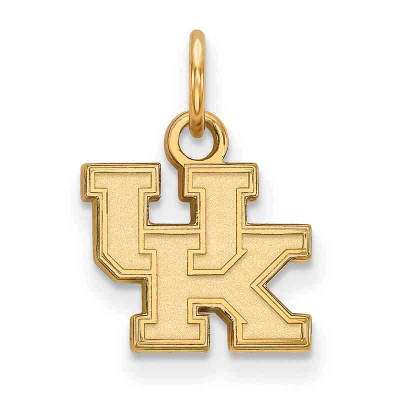 GP001UK: 925 YGFP Kentucky XS Pendant