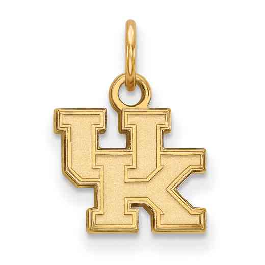 GP001UK: 925 YGFP Kentucky XS Pendant