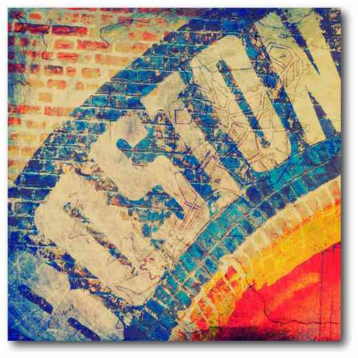 WEB-ST166: Boston Vintage Canvas 16x16