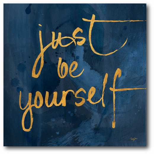 WEB-CD113-16x16: Be yourself Canvas 16x16