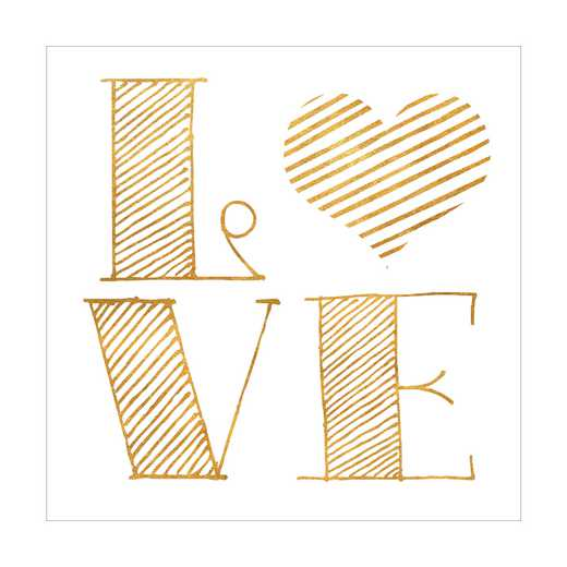 DEC-TYP331: Love Wall Decals 30x30