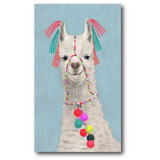 WEB-G303: Adorned Llama II Canvas 12x18