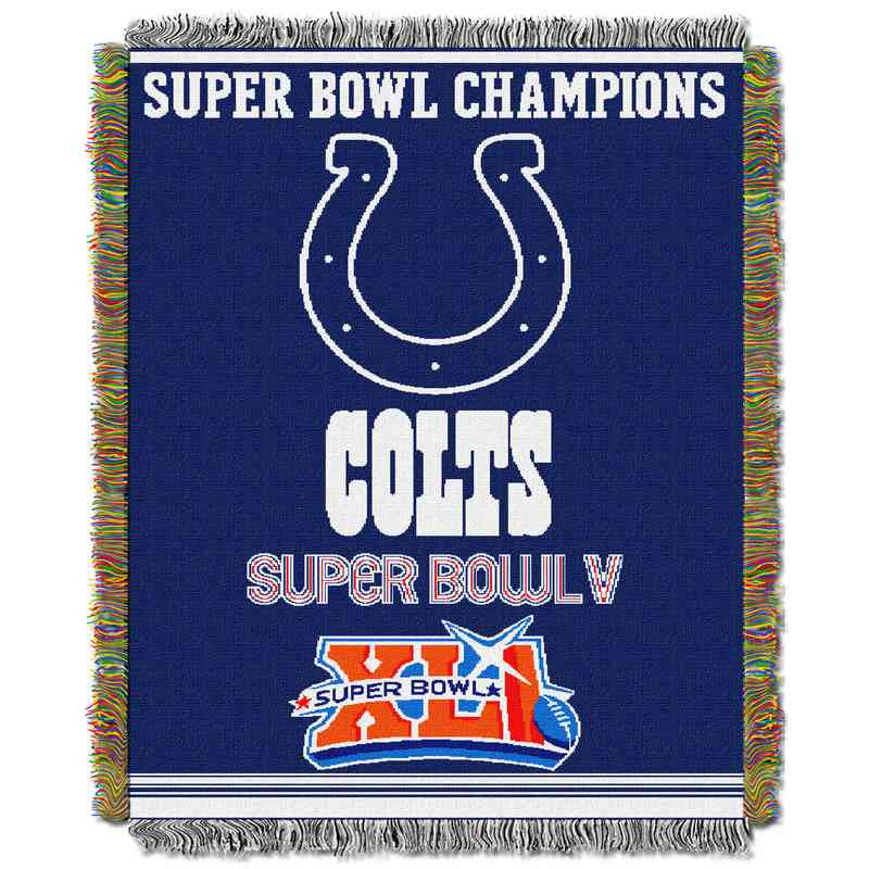 Indianapolis Colts NFL Championship Tapestry Throw Blanket Best Colts Throw Blanket