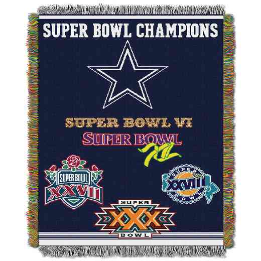 1NFL051400009RET: NW NFL Comm Tapestry Throw, Cowboys