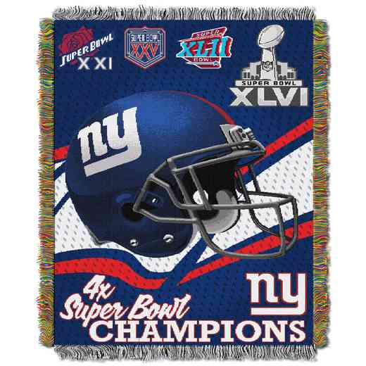 1NFL051400081RET: NW NFL Comm Tapestry Throw, Giants