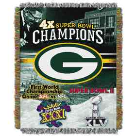 1NFL051400017RET: NW NFL Comm Tapestry Throw, Packers