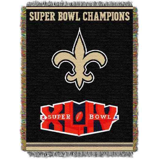 1NFL051400021RET: NW NFL Comm Tapestry Throw, Saints