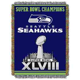 1NFL051400022RET: NW NFL Comm Tapestry Throw, Seahawks