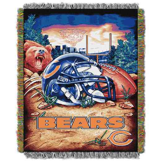 1NFL051010001RET: NW NFL HFA Tapestry Throw, Bears