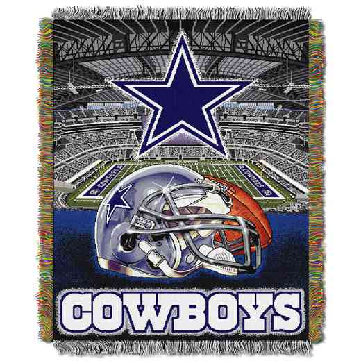 1NFL051010009RET: NW NFL HFA Tapestry Throw, Cowboys