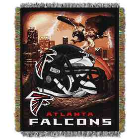 1NFL051010012RET: NW NFL HFA Tapestry Throw, Falcons