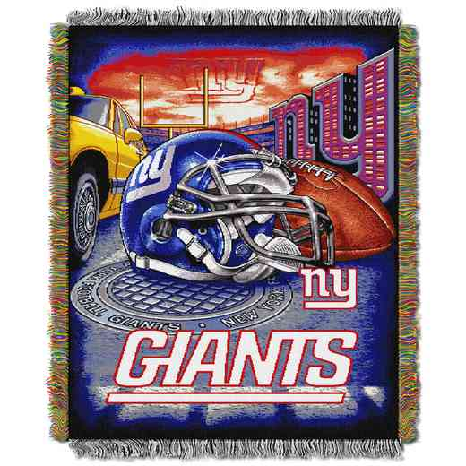 1NFL051010081RET: NW NFL HFA Tapestry Throw, Giants