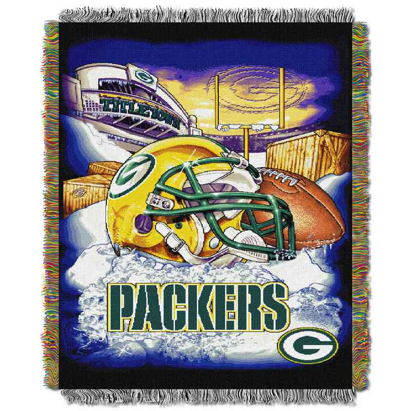 Green Bay Packers NFL Hometown Tapestry Throw Blanket Custom Green Bay Packers Throw Blanket