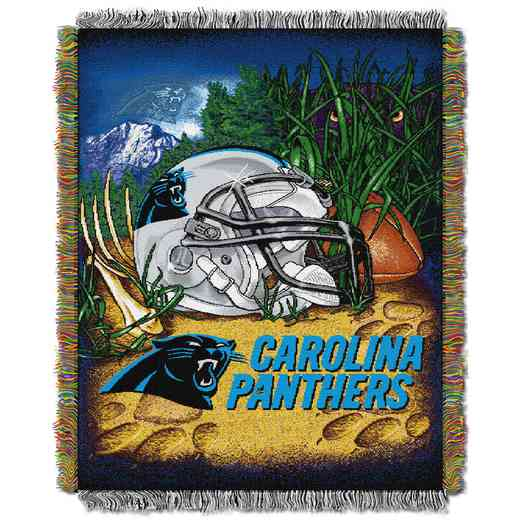 1NFL051010018RET: NW NFL HFA Tapestry Throw, Panthers