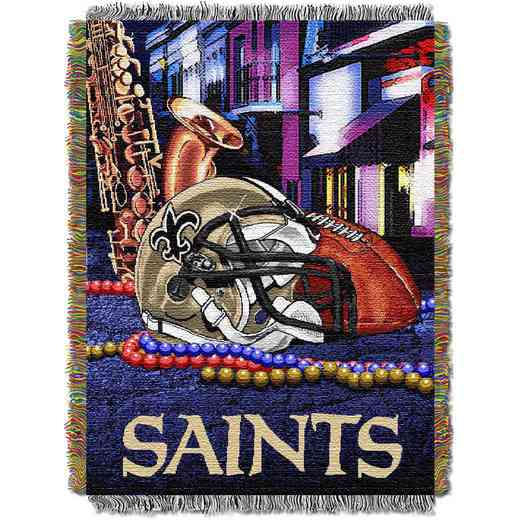 1NFL051010021RET: NW NFL HFA Tapestry Throw, Saints