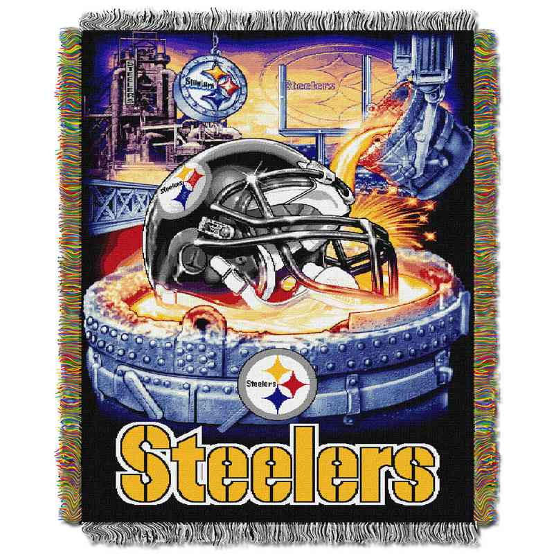 32dbc5210 Pittsburgh Steelers NFL Hometown Tapestry Throw Blanket
