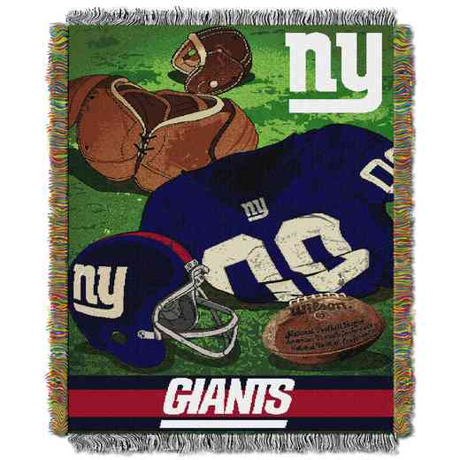 1NFL051020081RET: NW NFL Vintage Tapestry Throw, Giants