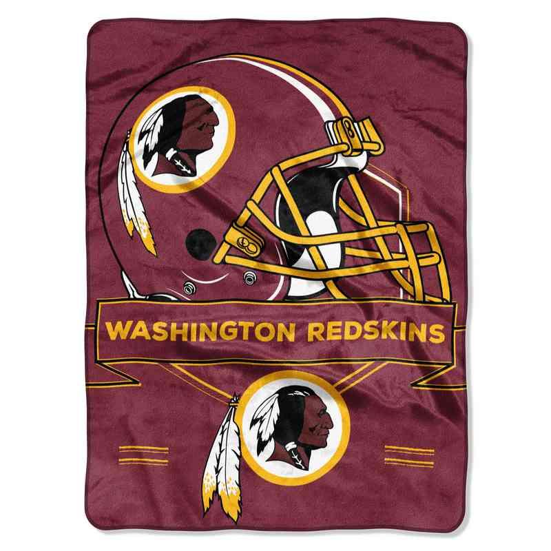 1NFL080710020RET: NW NFL Prestige Raschel Throw, Redskins