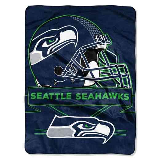 1NFL080710022RET: NW NFL Prestige Raschel Throw, Seahawks
