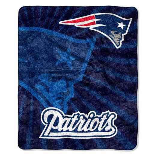1NFL065010076RET: NW NFL Sherpa Strobe Throw, Patriots