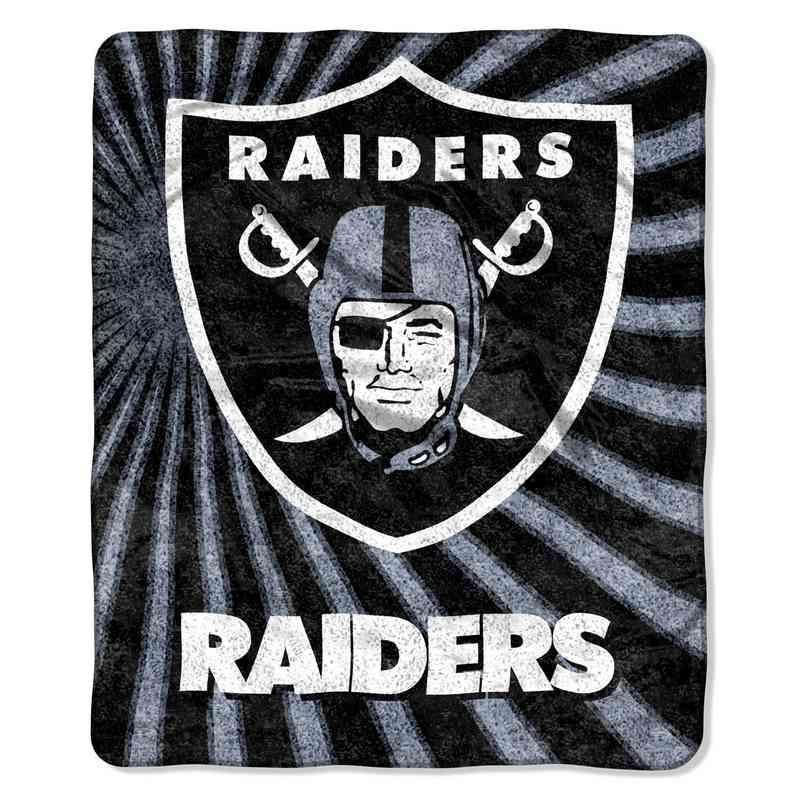 1NFL065010019RET: NW NFL Sherpa Strobe Throw, Raiders