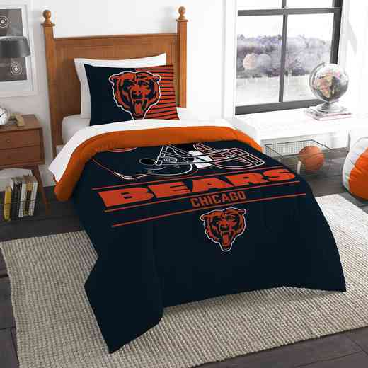 1NFL862000001RET: NW NFL  Anthem Twin Comf Set, Bears