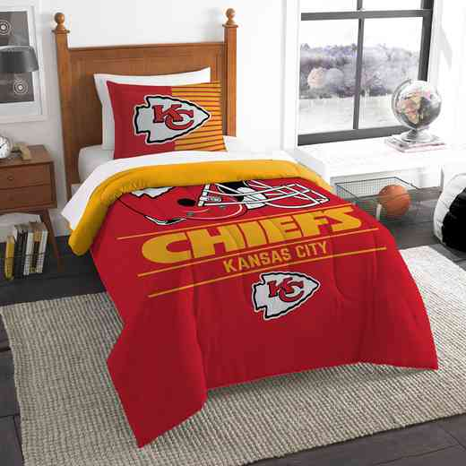 1NFL862000007RET: NW NFL  Anthem Twin Comf Set, Chiefs