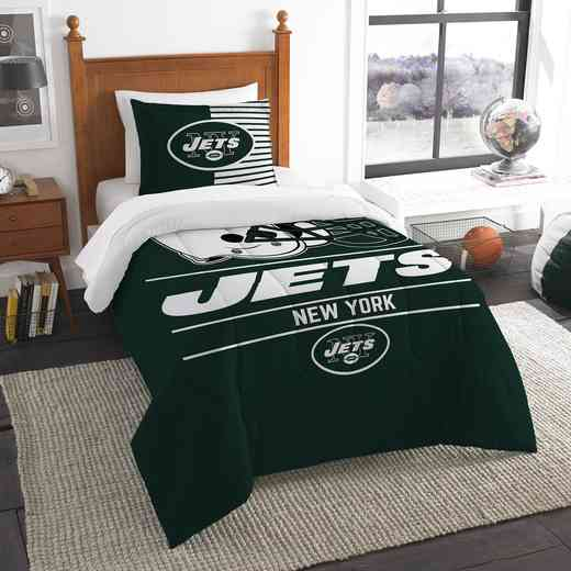 1NFL862000015RET: NW NFL  Anthem Twin Comf Set, Jets