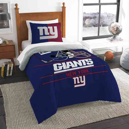 1NFL862000081RET: NW NFL  Anthem Twin Comf Set, Giants