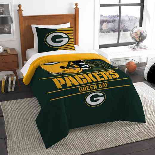 1NFL862000017RET: NW NFL  Anthem Twin Comf Set, Packers