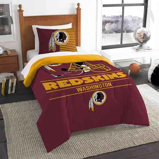 1NFL862000020RET: NW NFL  Anthem Twin Comf Set, Redskins