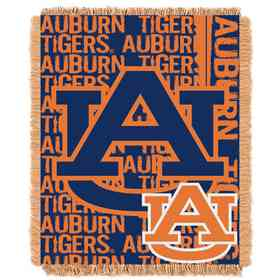 1COL019030022RET: NW COL Double Play Tapestry Throw, AUB