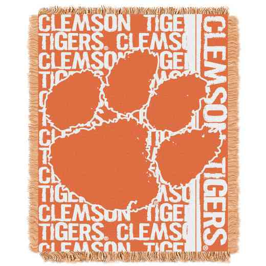 1COL019030033RET: NW COL Double Play Tapestry Throw, CLEM