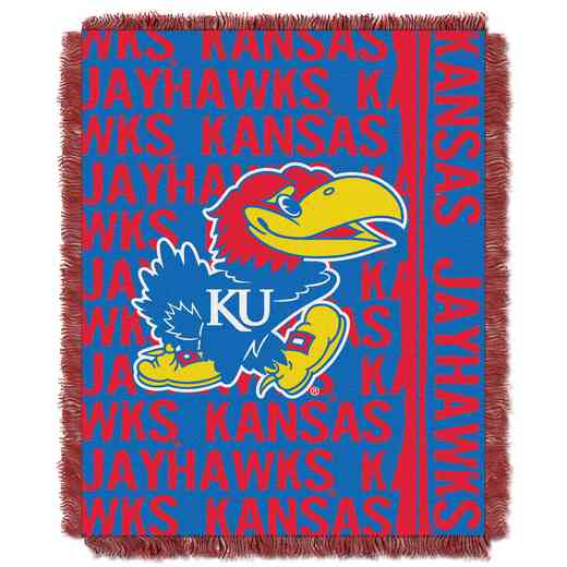1COL019030008RET: NW COL Double Play Tapestry Throw, KS