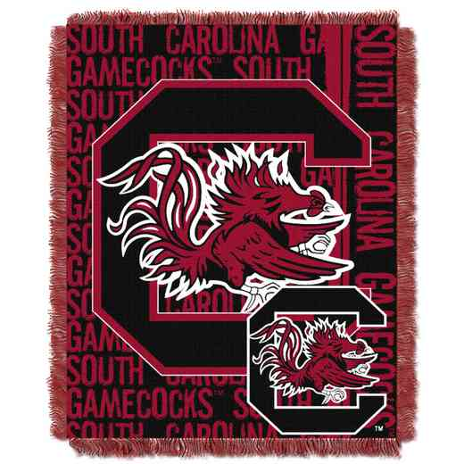 1COL019030042RET: NW COL Double Play Tapestry Throw, SC