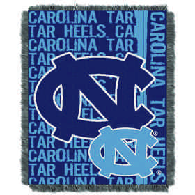 1COL019030023RET: NW COL Double Play Tapestry Throw, UNC